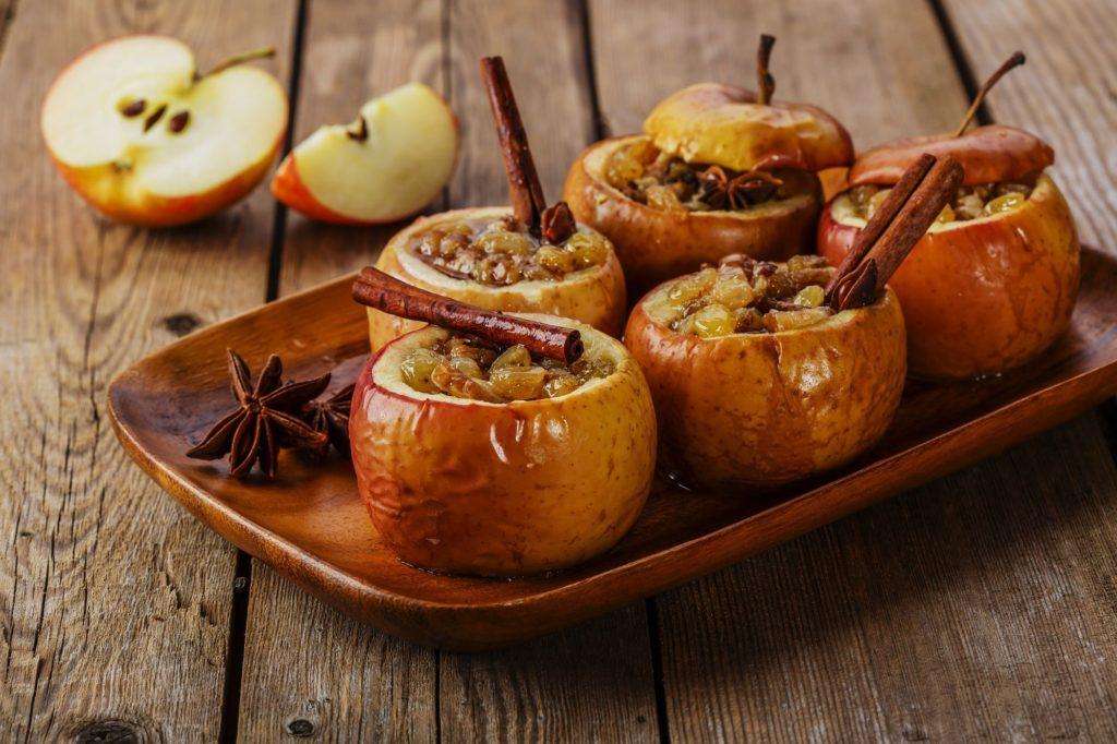 Pieczone jabłka i ich właściwości zdrowotne