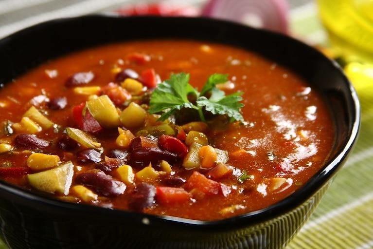 Zupa meksykańska kwestia smaku i uwielbiana kuchnia meksykańska