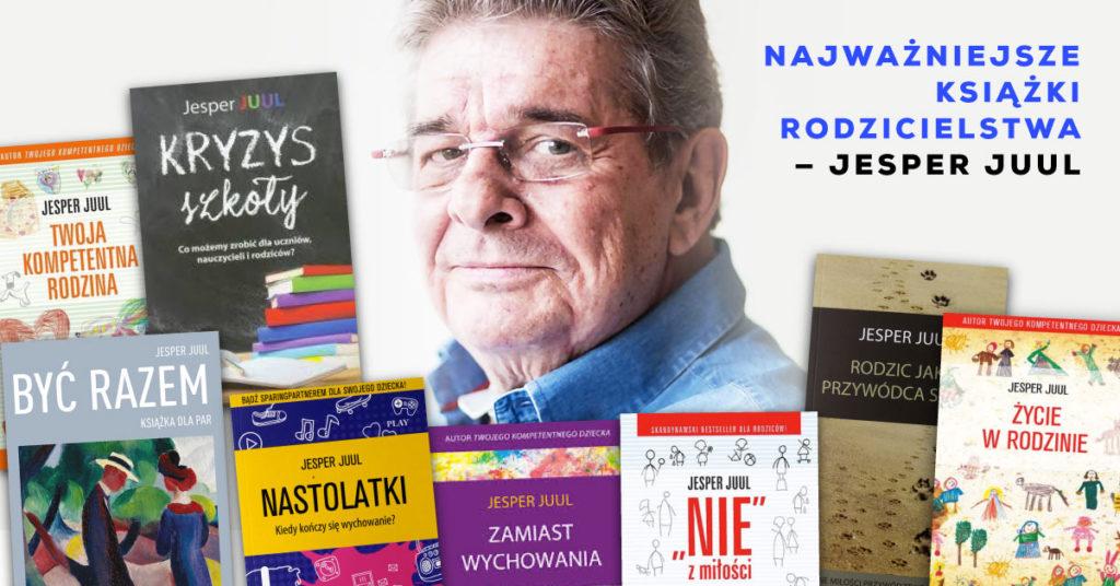 Jesper Juul książki – naprawdę warto