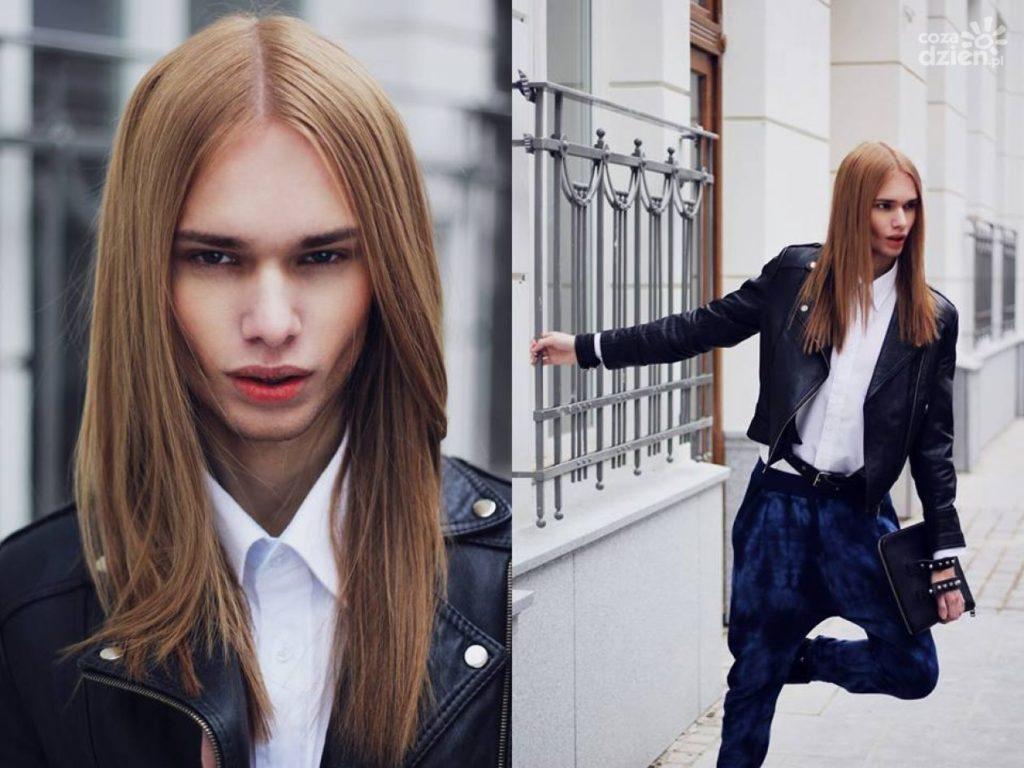 Kim jest Mateusz Maga? Zobacz najnowsze zdjęcia polskiego modela o androgenicznej urodzie