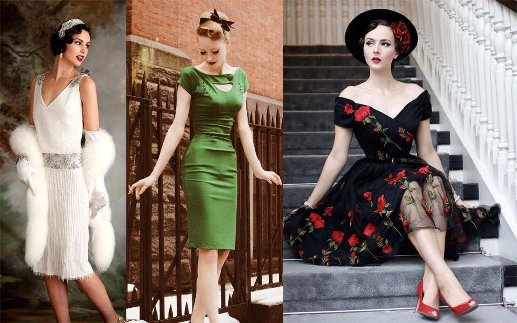 Zostań dziewczyną retro – sukienka retro Ci w tym pomoże