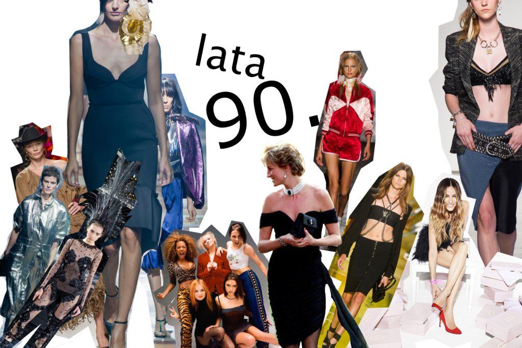Sukienki lat 90 i powrót weluru